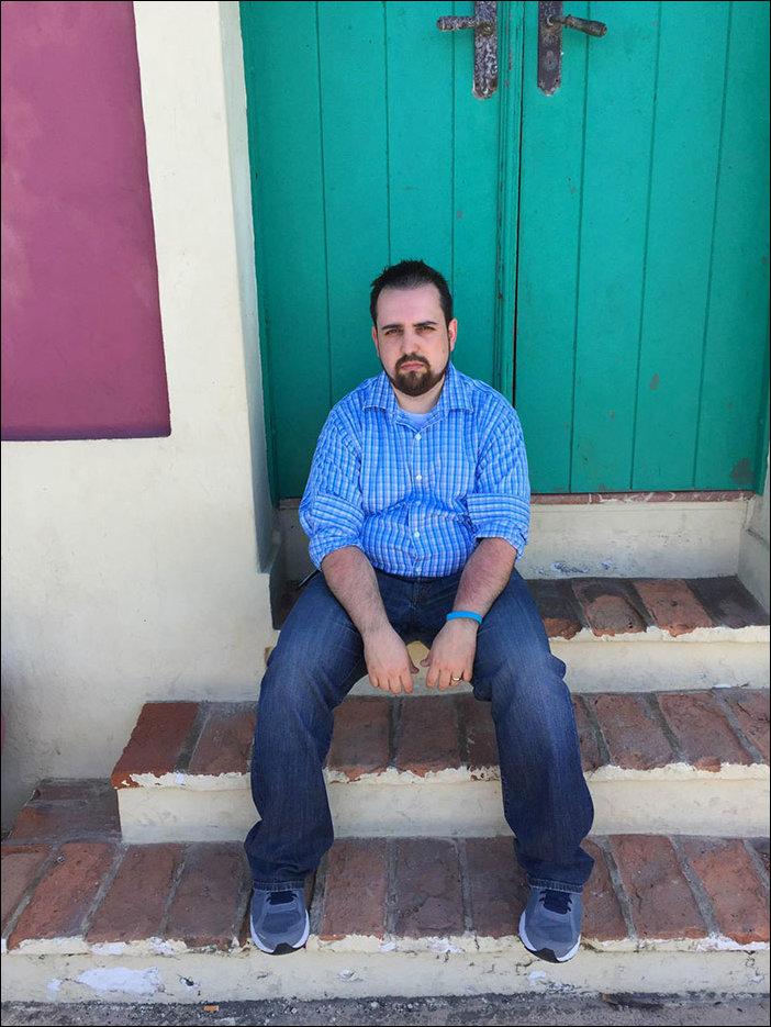 Грустный парень в Пуэрто Рико