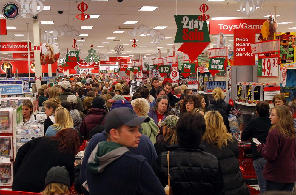 традиционный рождественский сезон распродаж мальчишки Возбуждению
