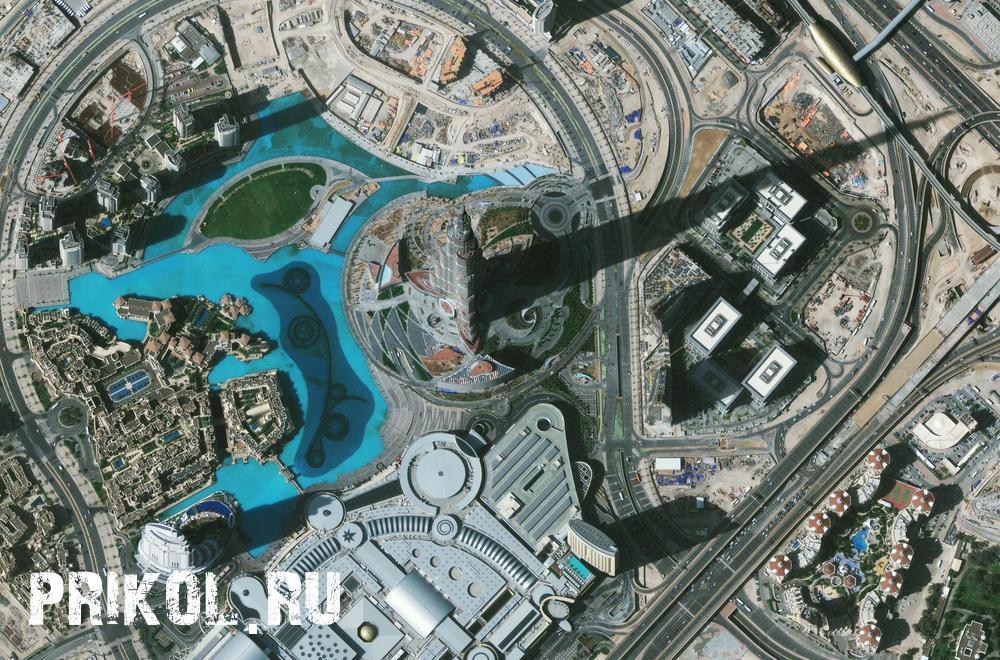смешные снимки со спутника