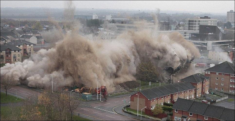 Взрыв здания