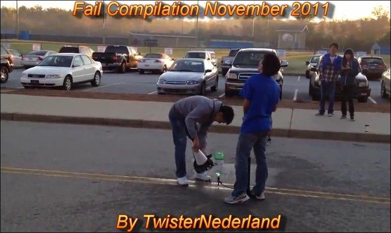 Подборка неудач за ноябрь 2011