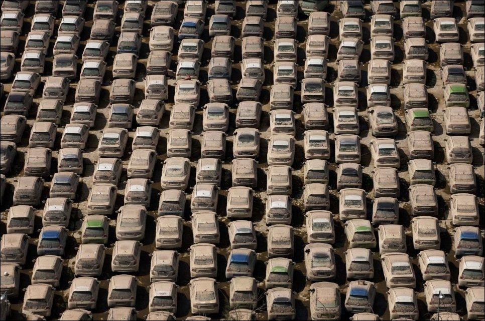 Таиландский завод Honda после наводнения