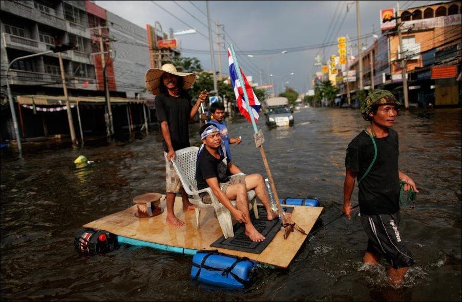Наводнение в Таиланде