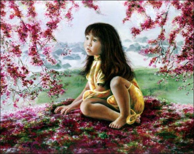 Как ребенок учился рисовать