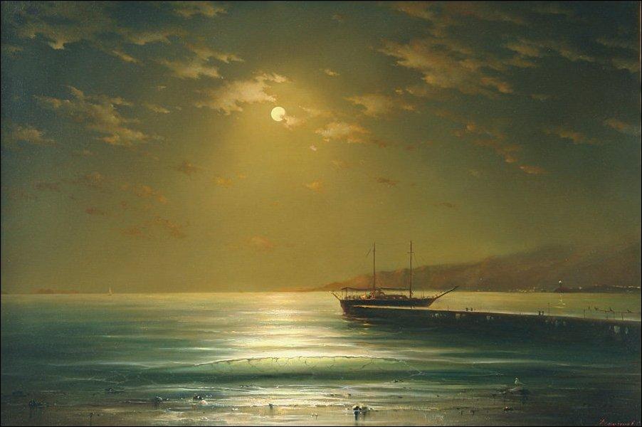 Морские пейзажи Георгия Дмитриева