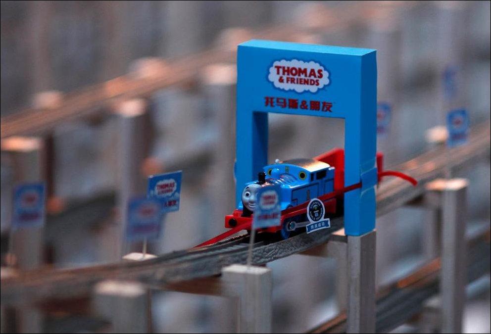 Самая длинная в мире игрушечная железная дорога