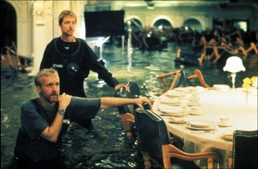 На съемочной площадке Титаника