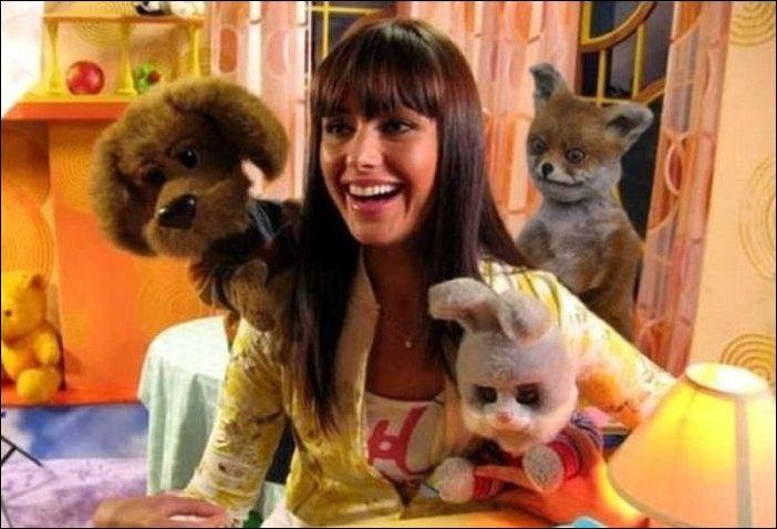 Фотожаба с чучелом лисицы