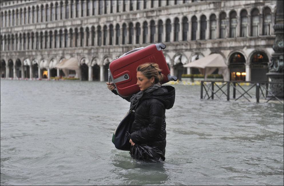 Венеция уходит под воду