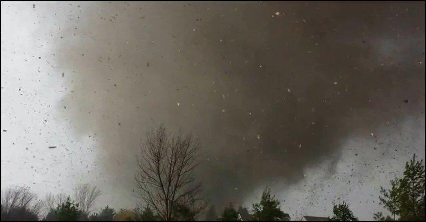Торнадо в Вашингтоне