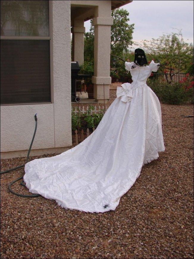 Свадебное платье бывшей жены