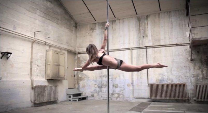 гимнастика на шесте