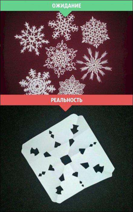 Зима - ожидание и реальность