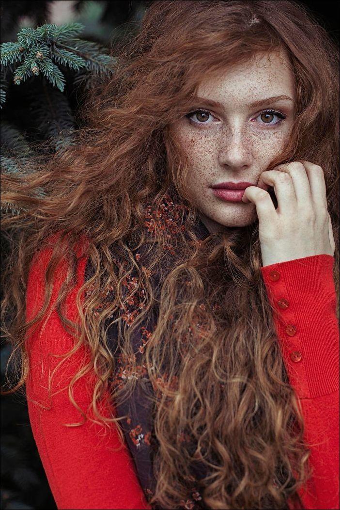 рыжие и веснушчатые