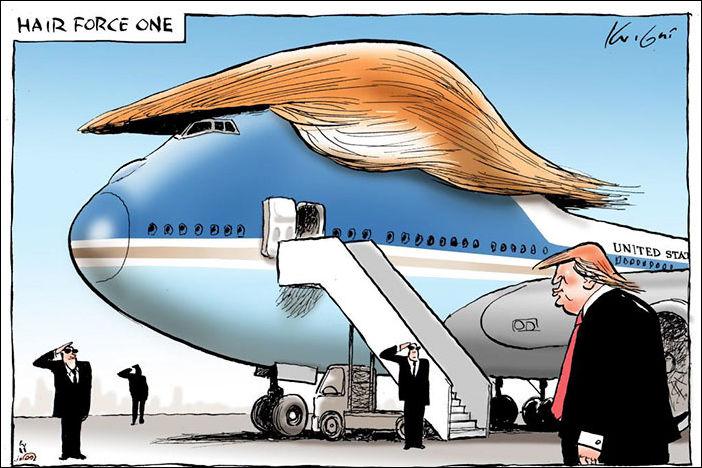 Трамп карикатуры