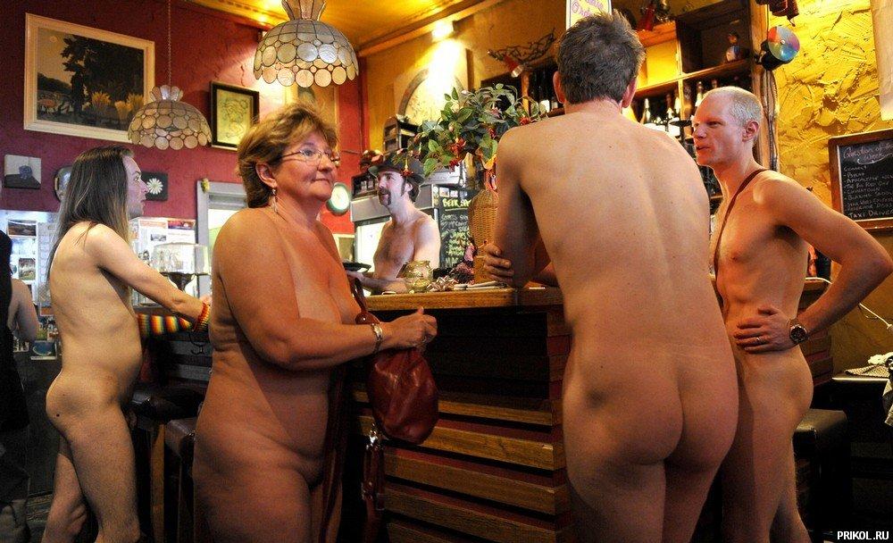 ресторан там где голые девушки напряжения