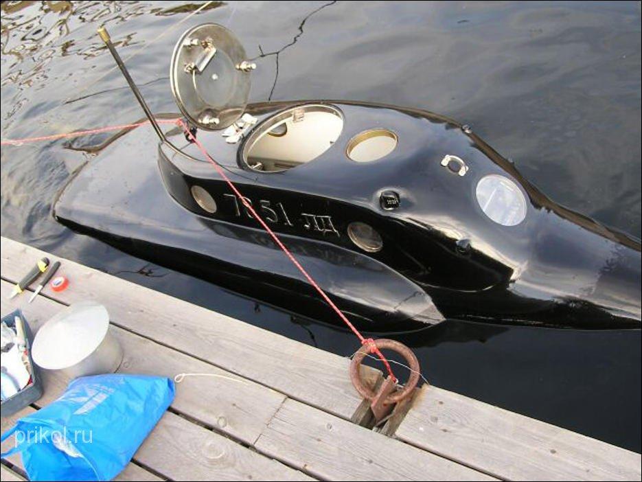как построить подводную лодку самому