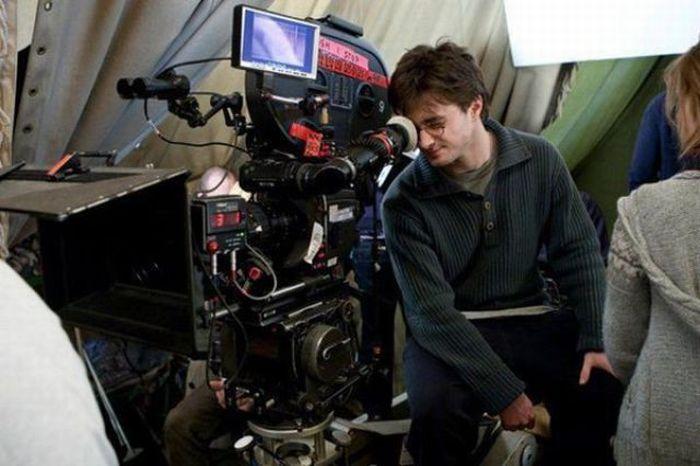 На съемочной площадке Гарри Поттера