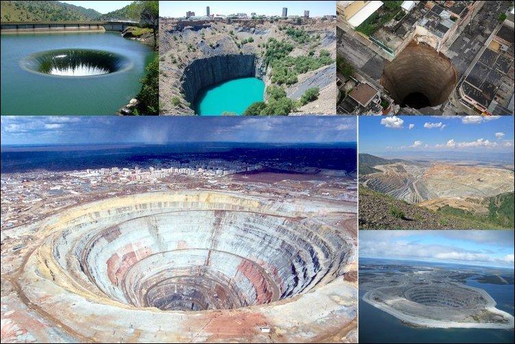 Самые большие дыры в Земле