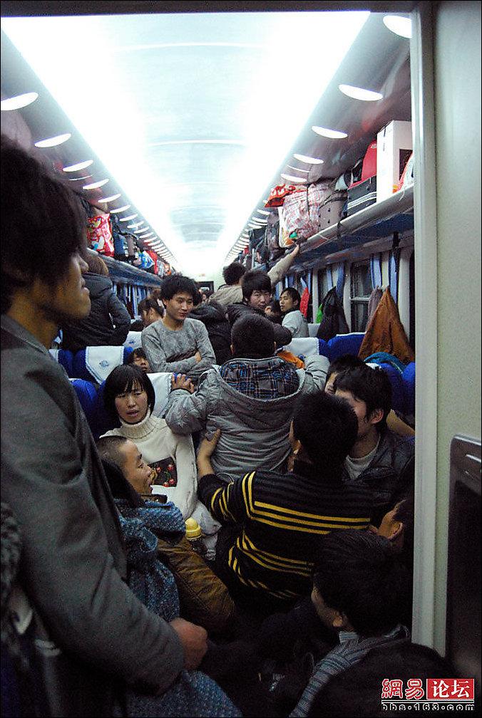 В китайских поездах