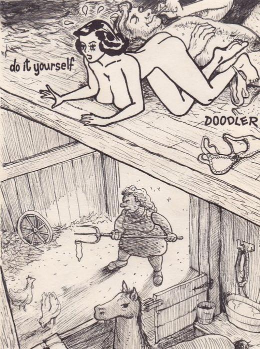 Рисунки Дэвида Яблоу