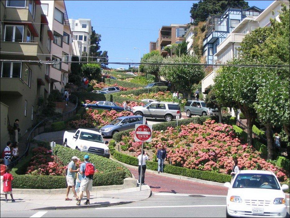 Самая извилистая улица в мире