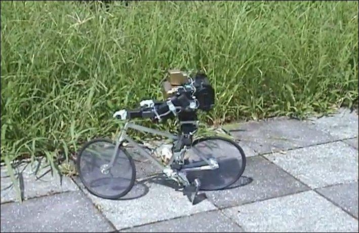 Робот-велосипедист