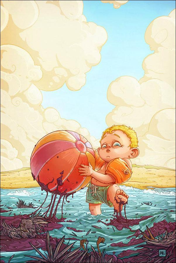 Иллюстрации польского художника Михаэля Дзикана