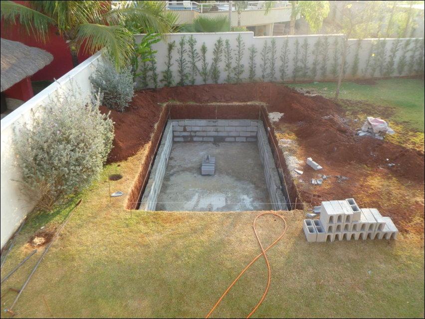 Как сделать мини бассейн своими руками на даче