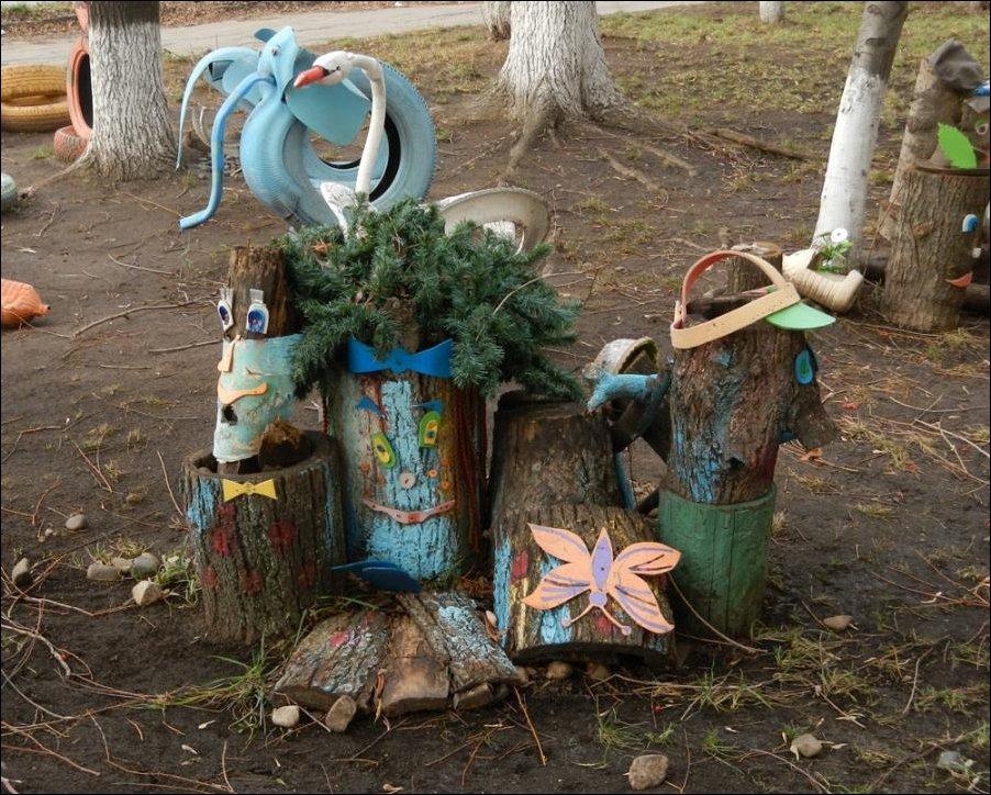 Детская площадка в Ижевске