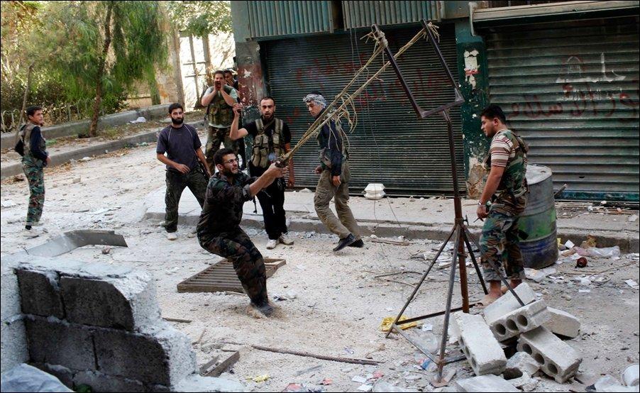 Тем временем в Сирии