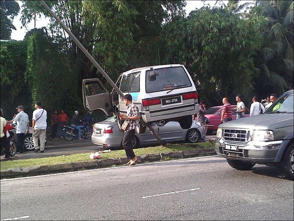 Необычная авария