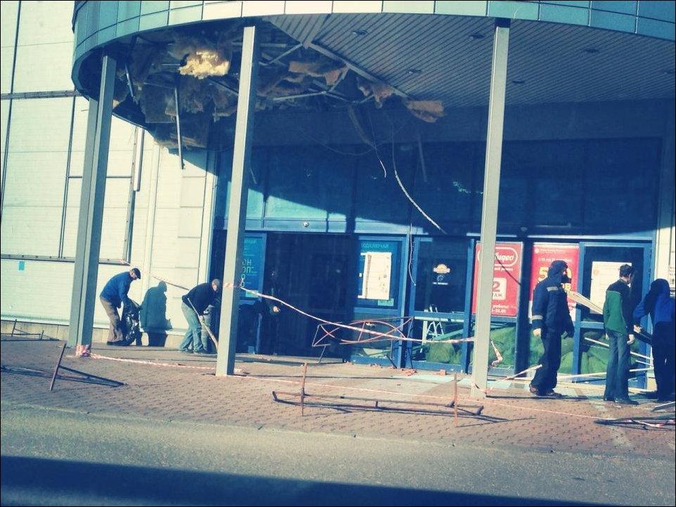 Ветреный день в Пскове