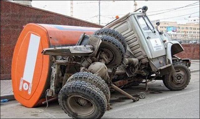 Неудачи на дорогах