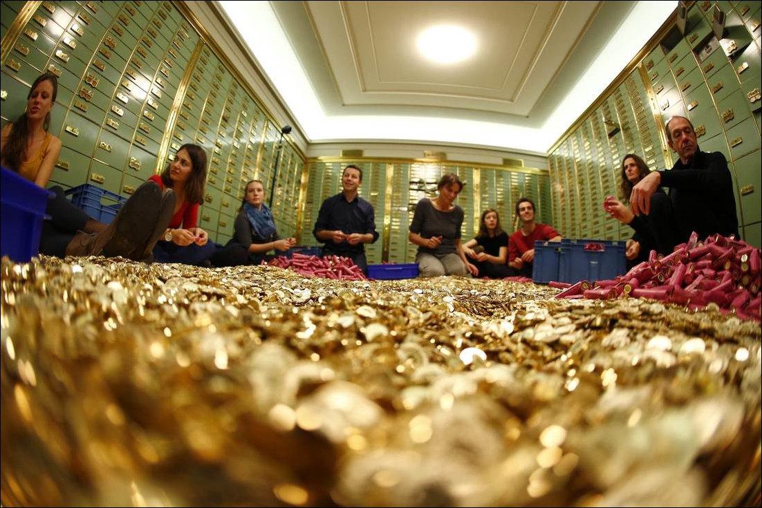 В Швейцарии сорят деньгами