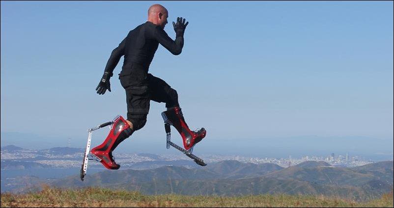 Сапоги-скороходы bionic boots