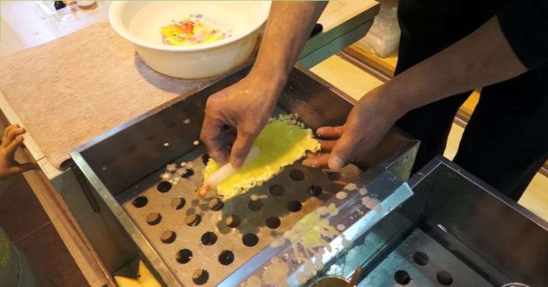 Муляж еды из воска - как делают в Японии
