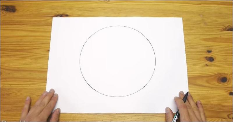 Как нарисовать ровный круг от руки