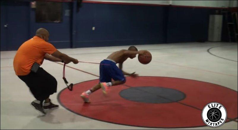 Юный баскетбольный талант