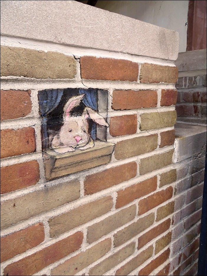 Рисунки в городе