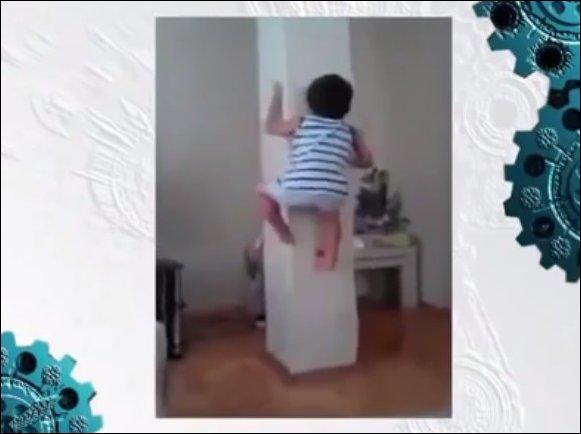 Человек-паук в детстве