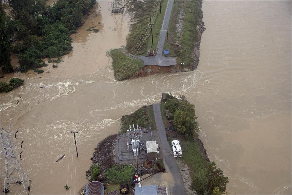 Наводнение в Южной Каролине