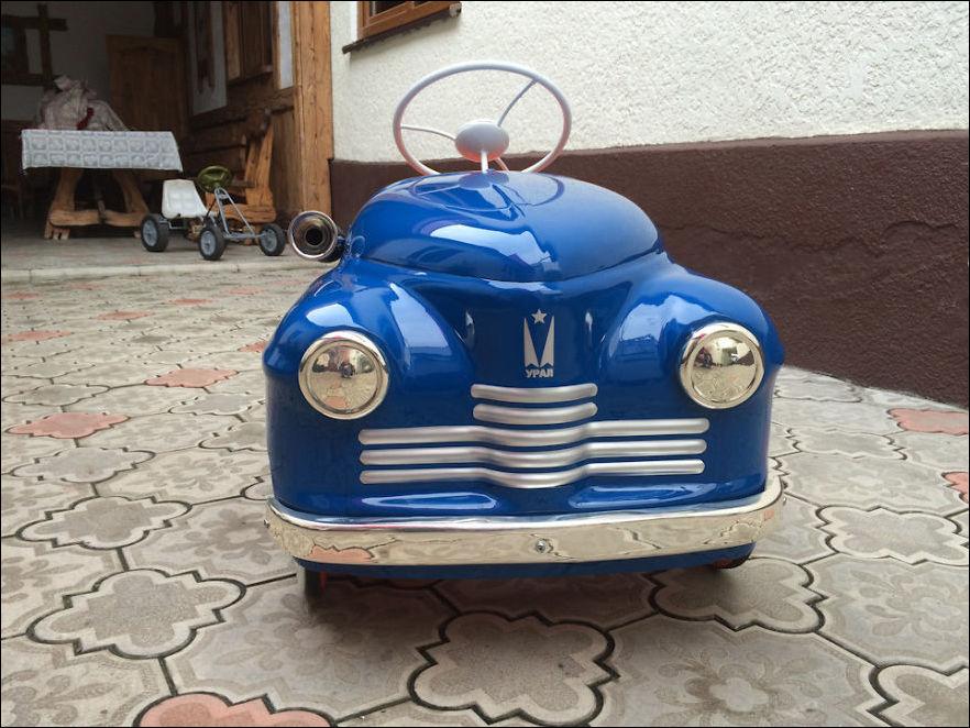 педальные машинки из СССР
