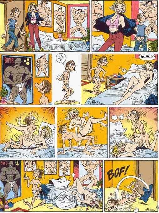 эрот комиксы