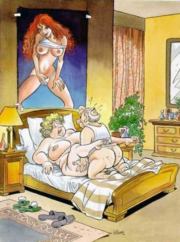 Фото карикатуры секс