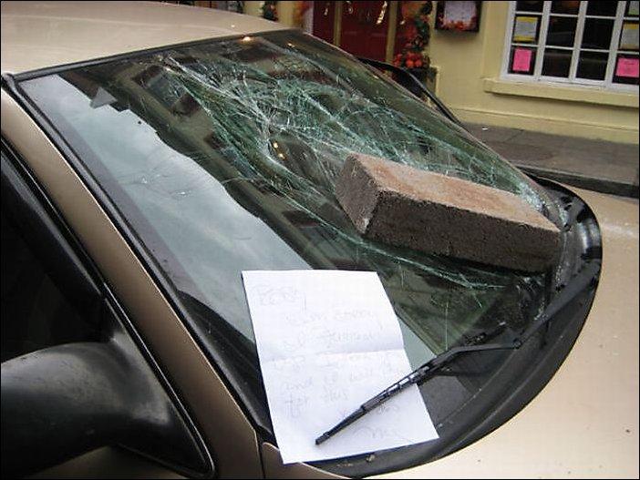 Подборка автомобильной мести