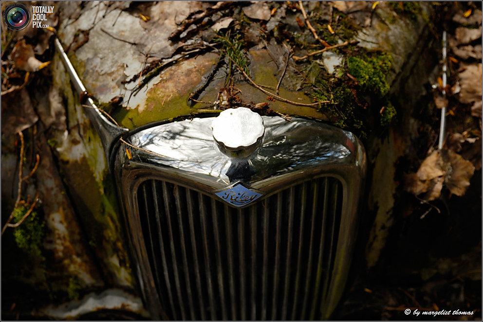 Кладбище ретро-автомобилей