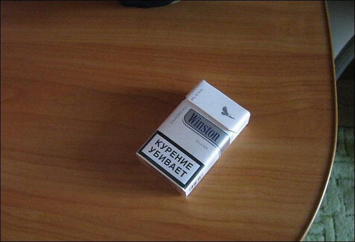 Бракованые сигареты