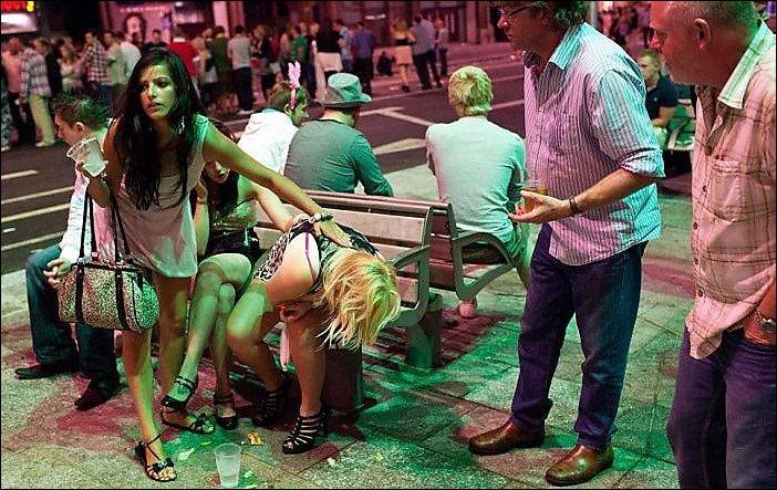 Пьяные выходные в Великобритании