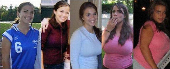 Девушки, которые потолстели